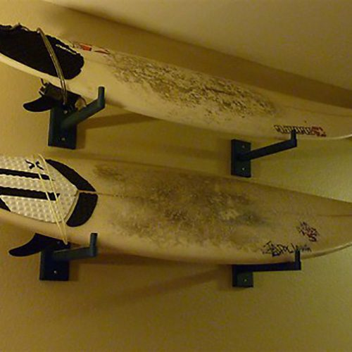 5 stylish wall mounted surfboard display