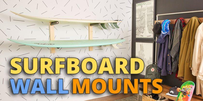 Surfboard Wall Racks